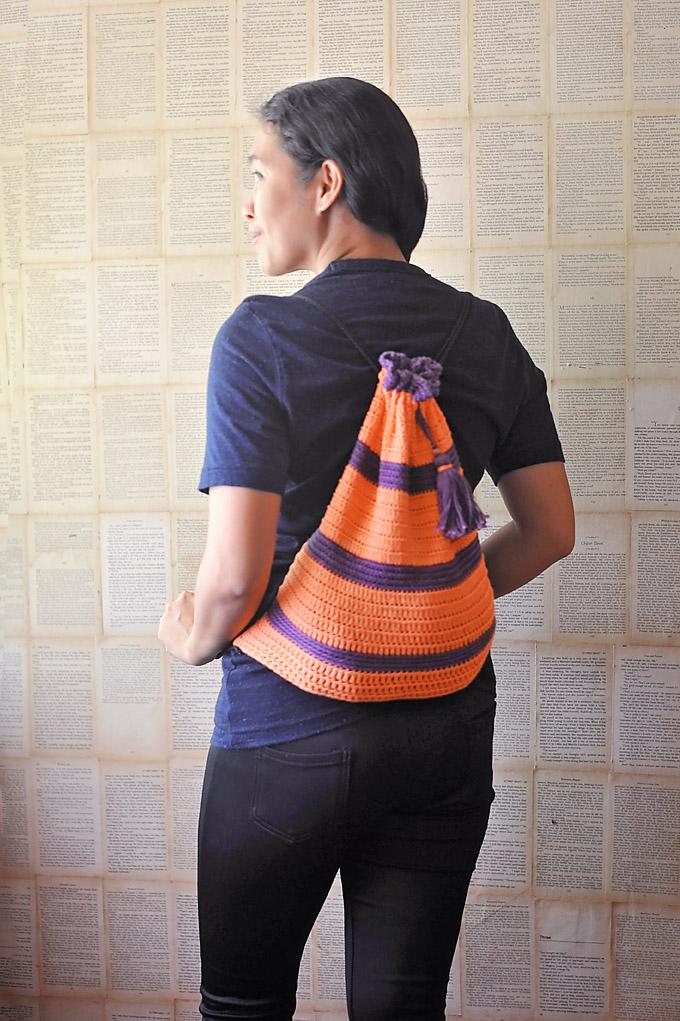 Prima Lou Drawstrings Backpack