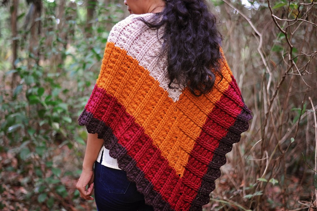 Blooms and Dunes Shawl